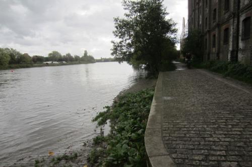 Mortlake quayside