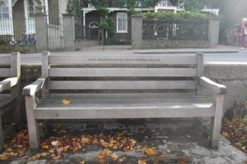 Thames Strategy bench