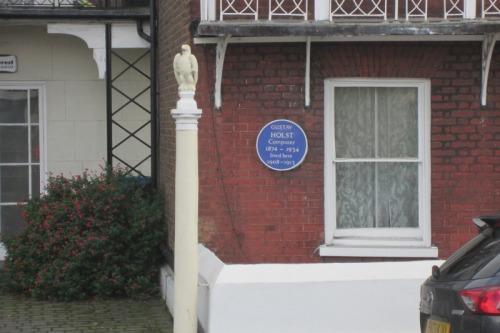 Gustav Holst lived here
