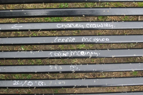 Bench in Maryon Park