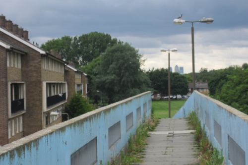 Footbridge over Harrow Manor Way