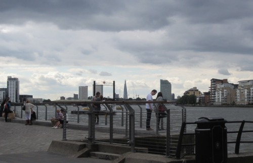 The Shard seen from Greenwich