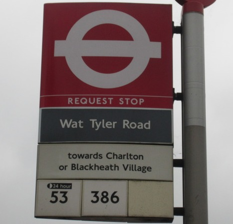 Wat Tyler Road Bus Stop